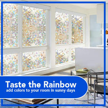 Load image into Gallery viewer, Rainbow Glass Window Film