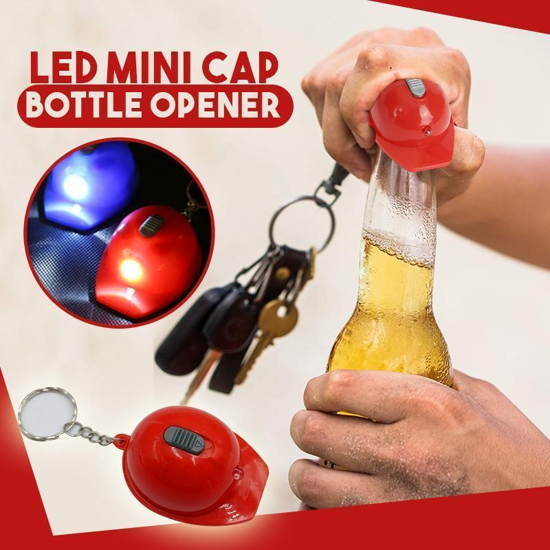 LED Mini Cap Bottle Opener