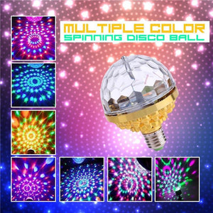 LED Spinning Disco Ball
