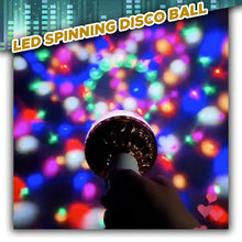 Load image into Gallery viewer, LED Spinning Disco Ball