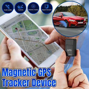 Magnetic GPS Tracker Device