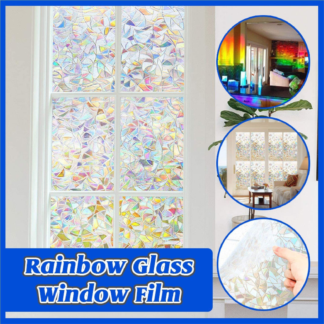 Rainbow Glass Window Film
