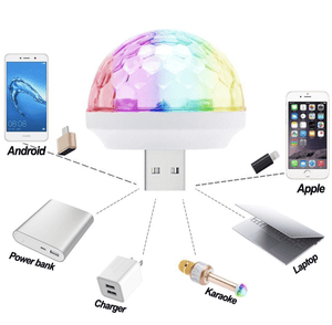 Mini USB Disco Light