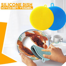 Load image into Gallery viewer, Silicone Dish Kitchen Towel