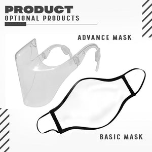 Transparent Stylish Face Cover