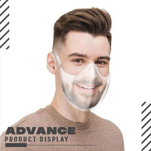 Load image into Gallery viewer, Transparent Stylish Face Cover