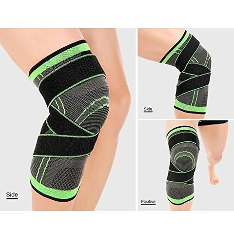 how to wrap the knee