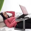 Laptop Table - Adjustable Laptop Stand For Bed - Foldable Laptop Desk Table - Lap Table  - Laptop Desk Stand - Laptop Holder - Portable Laptop Stand