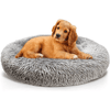Calming Dog Bed - Large Donut Bed for Dogs - Comfy Dog Bed - Calming Dog Bed UK