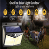 Solar Security Light - Outdoor Motion Sensor Light - 208 LED Security Light - Waterproof Wireless Solar Light
