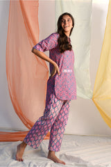 Vibrant Pathani Style Round Kurta - Rose Pink Palette - Vibrant Collection -DreamSS by Shilpa Shetty