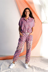 Pull String with String Harem Pants - Rose Pink Palette - Vibrant Collection -DreamSS by Shilpa Shetty