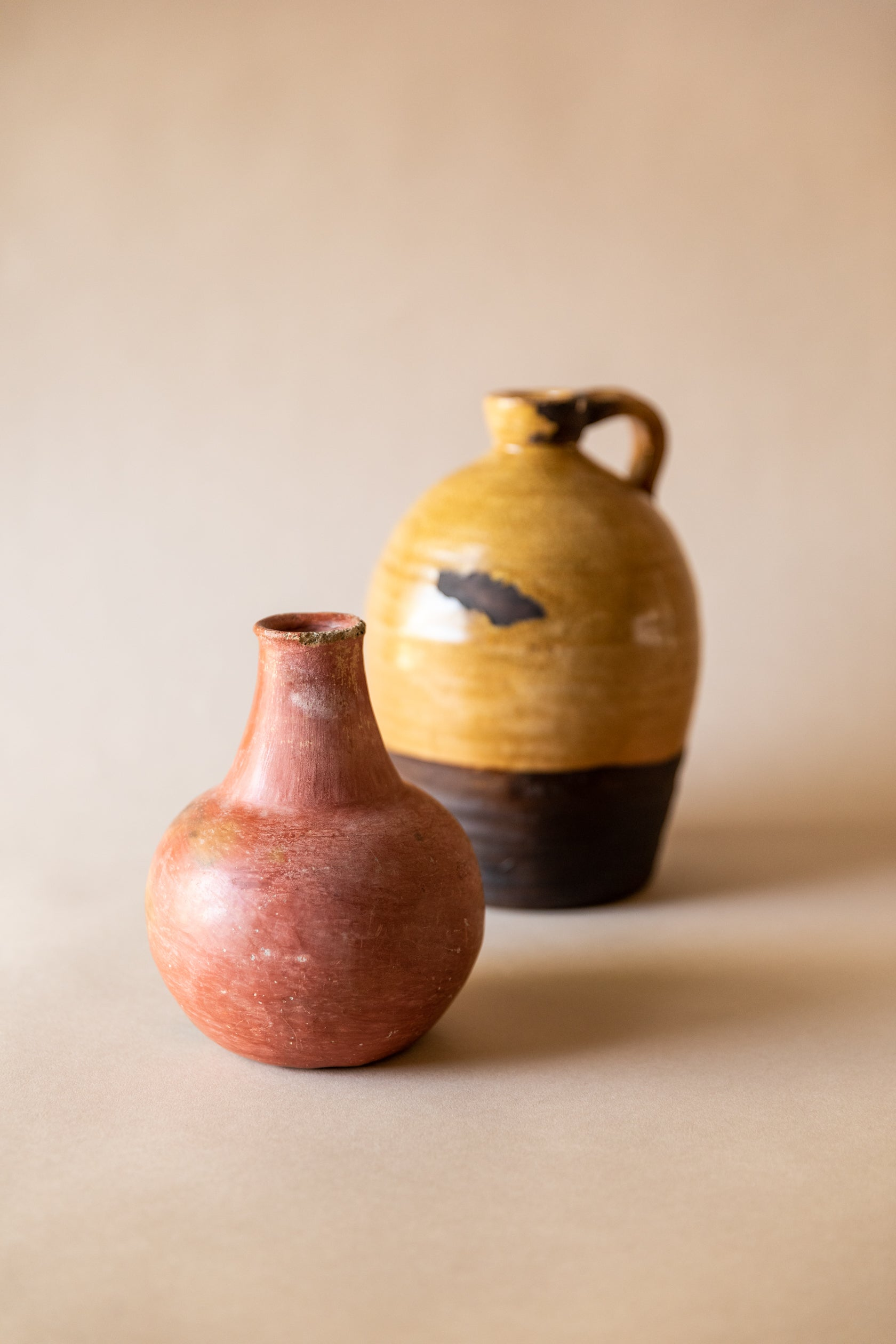 Redware Bottle Vase