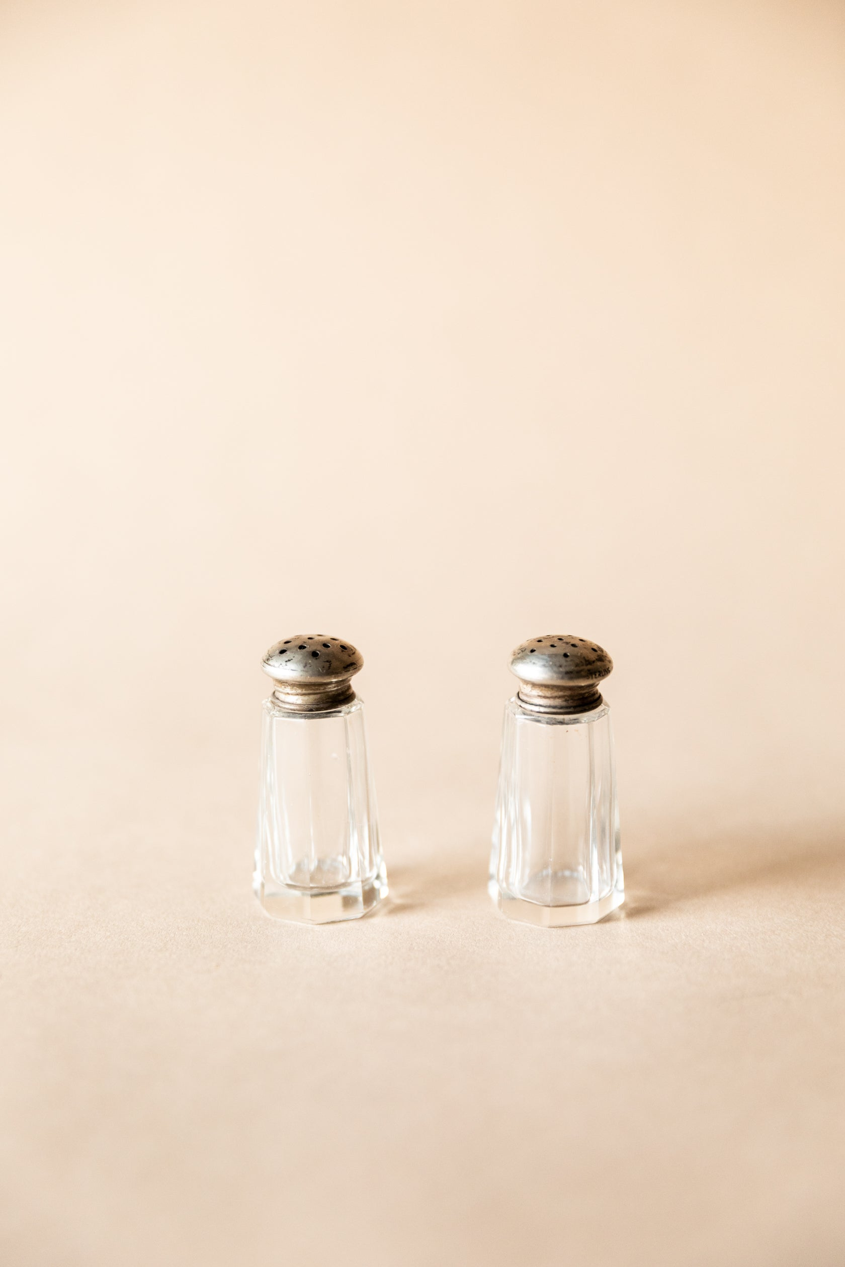 Classic Diner Style S&P Shakers
