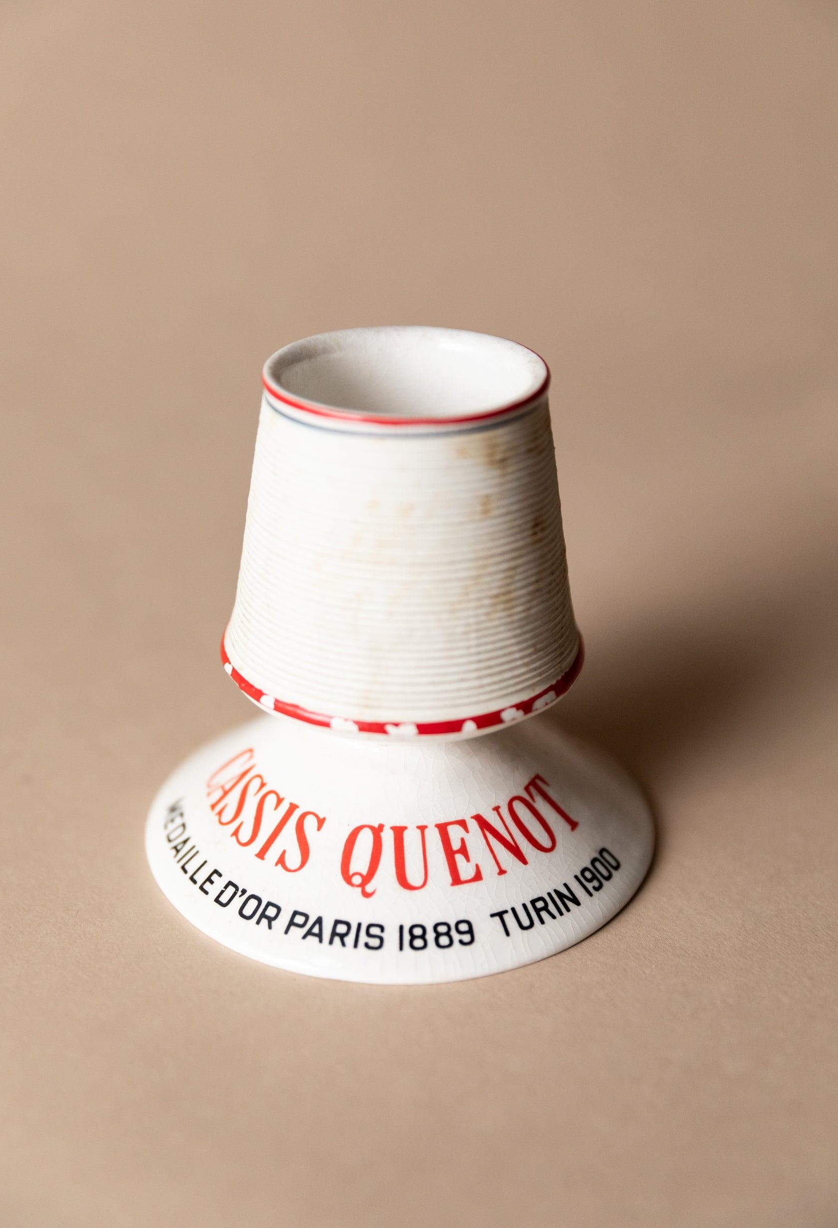 Cassis Quenot Tall Match Striker, c. Paris 1889