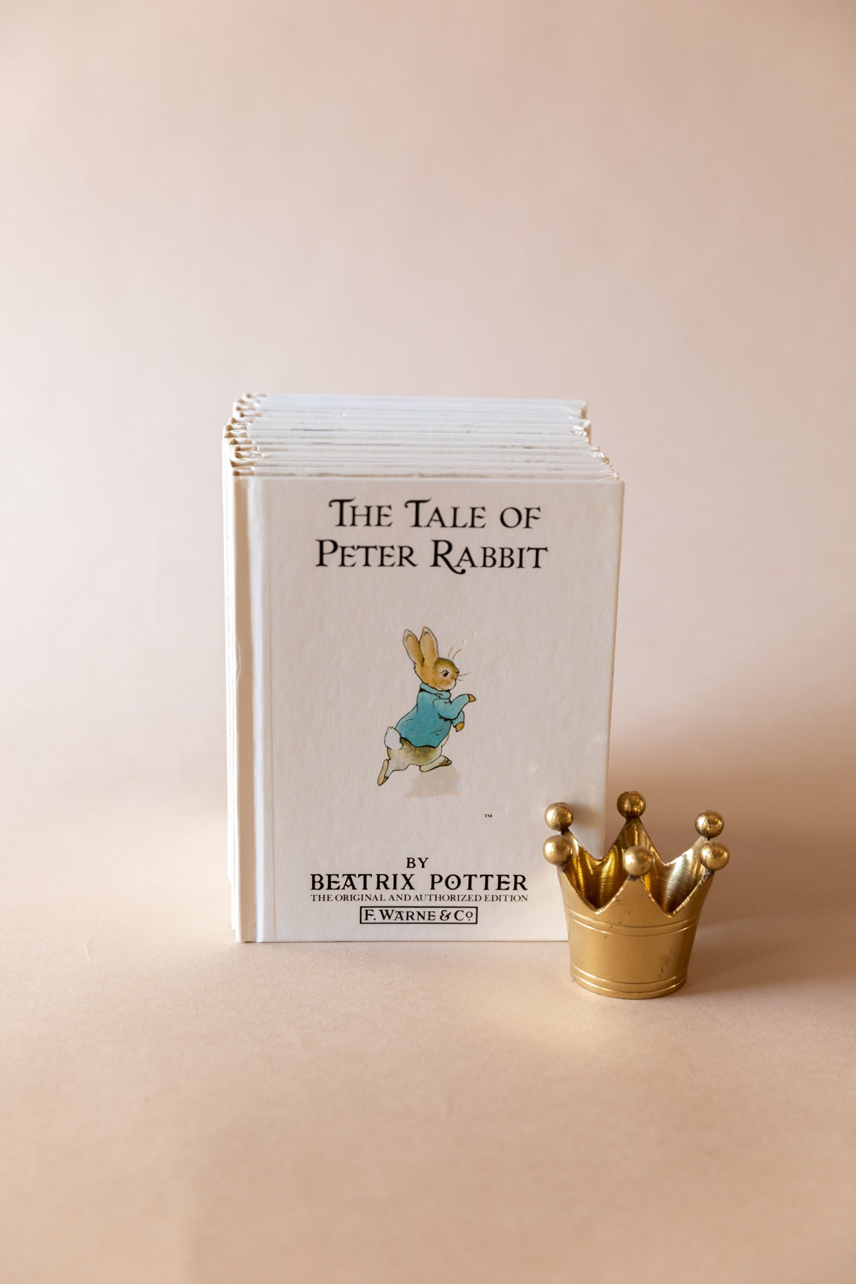 "Beatrix Potter Mini Children's Book Collection, 12 ""tales of"", c. 1986"