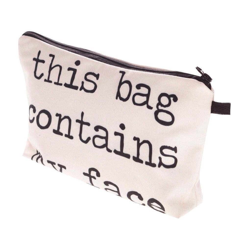 Image of closed makeup bag
