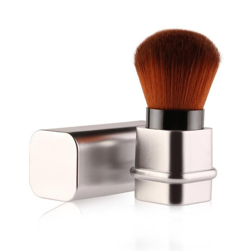 Image showing a silver makeup brush
