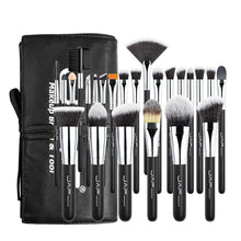 Load image into Gallery viewer, image of black set makeup tools