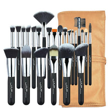 Load image into Gallery viewer, image of brown set makeup tools