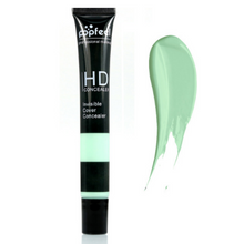 Load image into Gallery viewer, Image of one ivy turquoise single concealer with an exemple stain next to it that shows the color