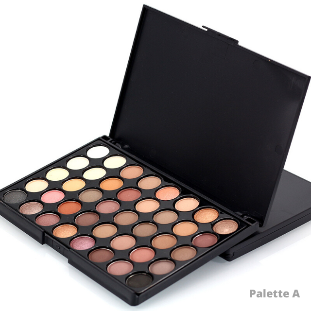 Image of the palette A with darker colors