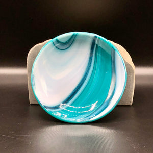 "Anything Bowl-4"": Wispy Teal-6"