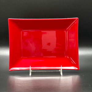 "Plate-Rec-5""x7"": Scarlet Red"