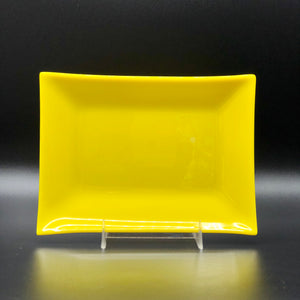 "Plate-Rec-5""x7"": Lemon Yellow"