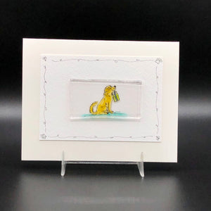 Card, Lrg-Dog with Gift-2