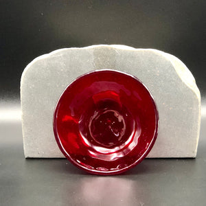 "Anything Bowl-3"": CherryTransRed"