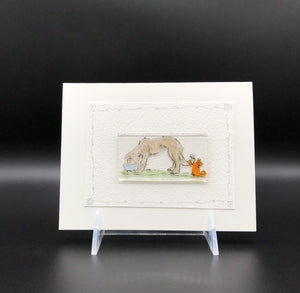 Card, Lrg-Dog & Kitty-4