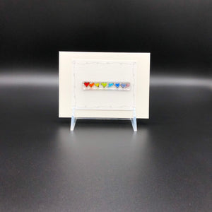 Card, Med-Rainbow Hearts-2