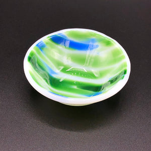 "Anything Bowl-3"": Spirit-White,green&blue-2"