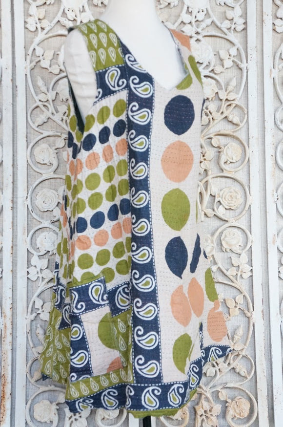 Spotted Moss Sundress
