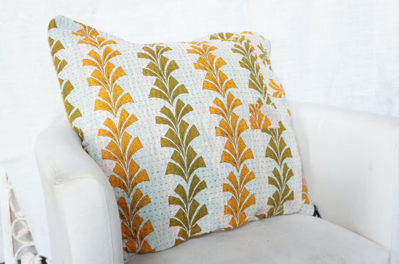 Nile Fern Pillow Cover