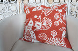 Partridge in a Pear Tree Pillow Cover