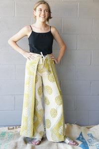 A New Leaf Wrap Pants