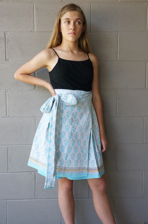 Babies Breath Wrap Skirt