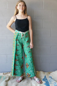 Evergreen Wrap Pants