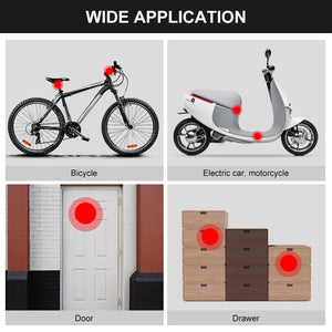 Waterproof Bike Anti-Theft Alarm