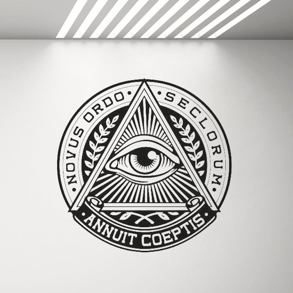 Sticker illuminati Nouvel ordre