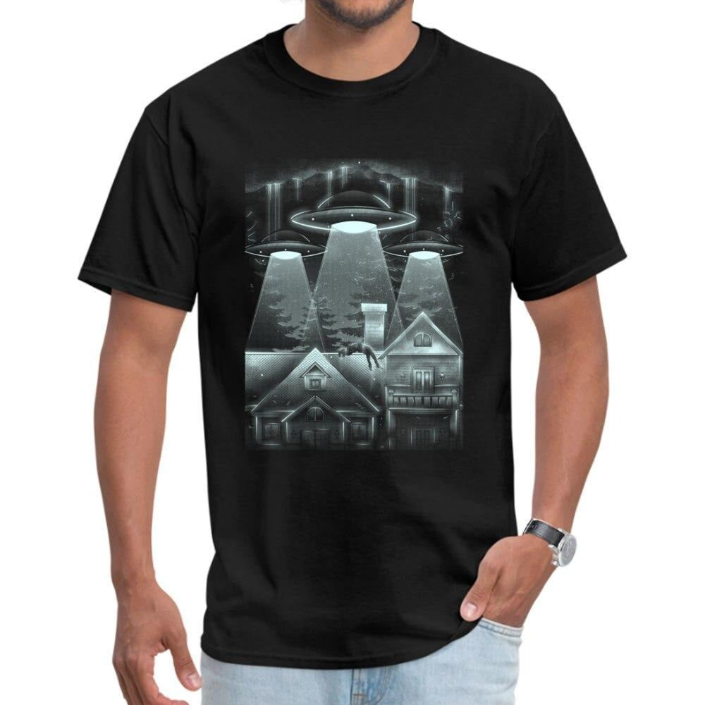 T-Shirt Illuminati Alien kidnapping