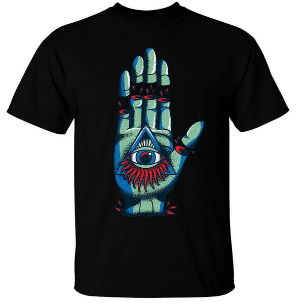 T-Shirt Illuminati Main coupée
