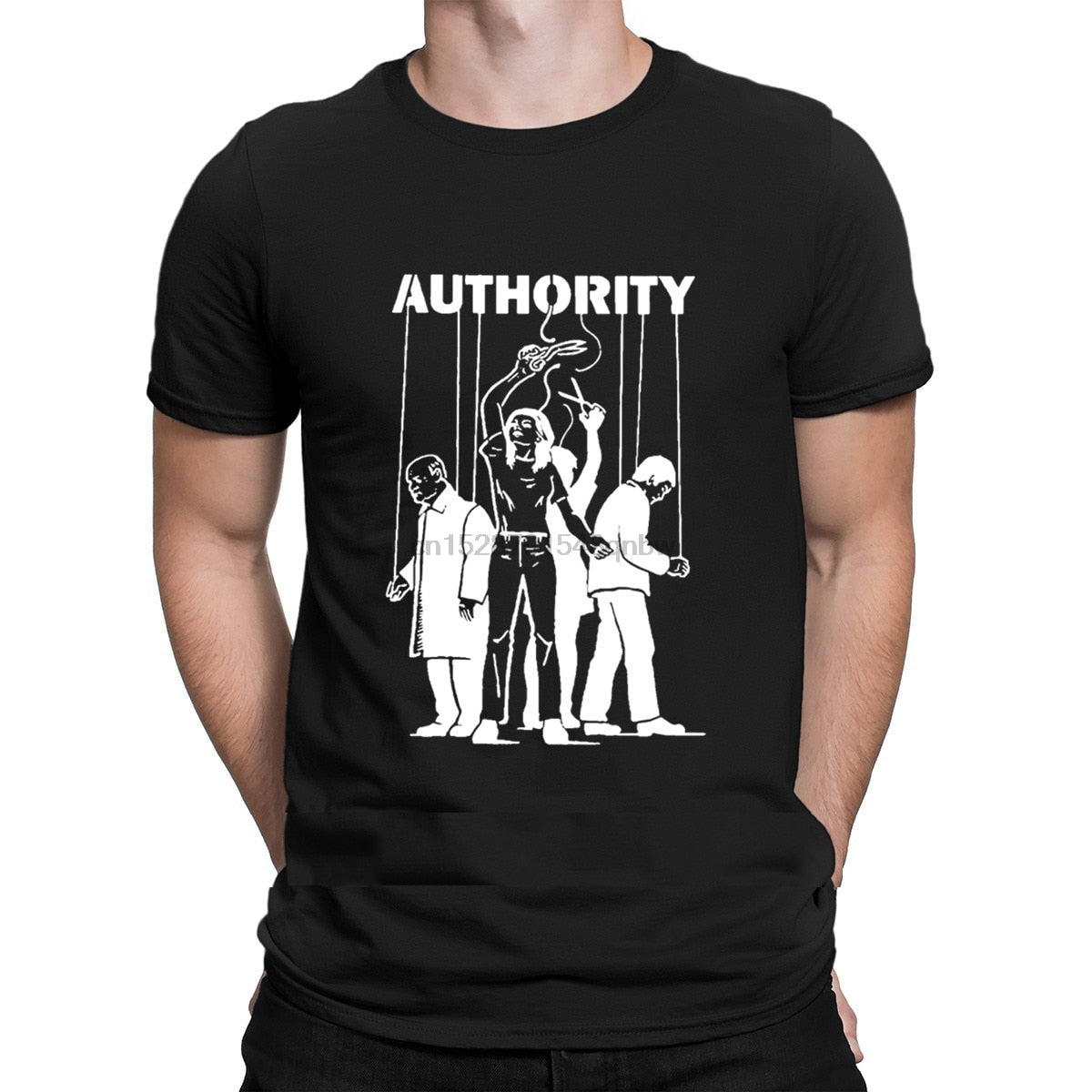 T-Shirt Illuminati Authority manipulation