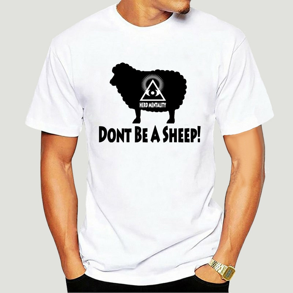 T-Shirt Illuminati Don't be a sheep