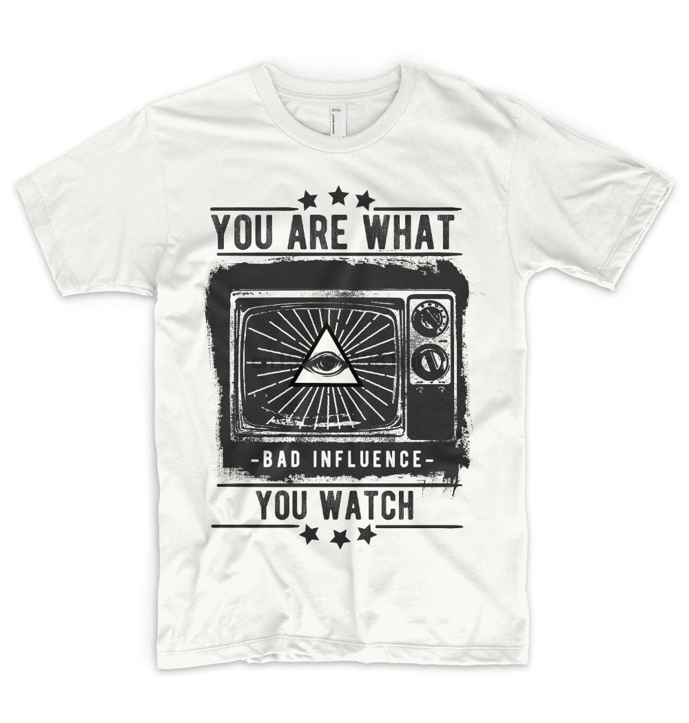 T-Shirt Illuminati You are what you watch