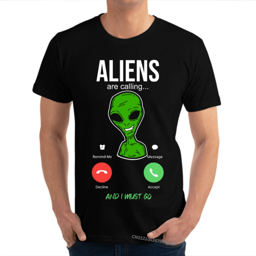 T-Shirt Illuminati Alien are calling