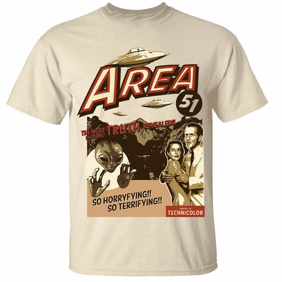 T-Shirt Illuminati Area 51