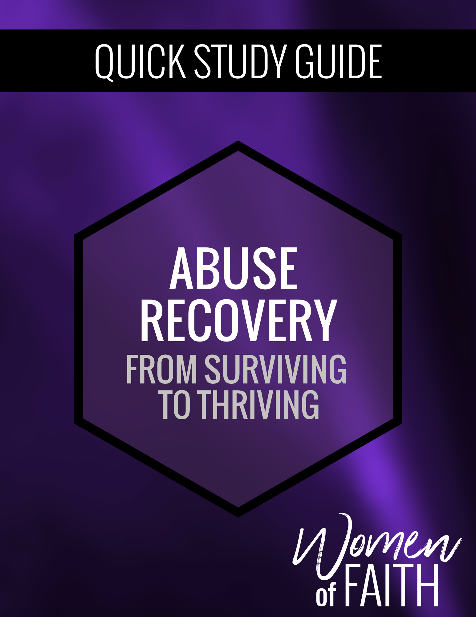 ABUSE RECOVERY - QUICK STUDY GUIDE  (E-GUIDE)